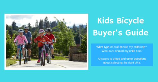 Kids Bicycle Buyer's Guide Ad